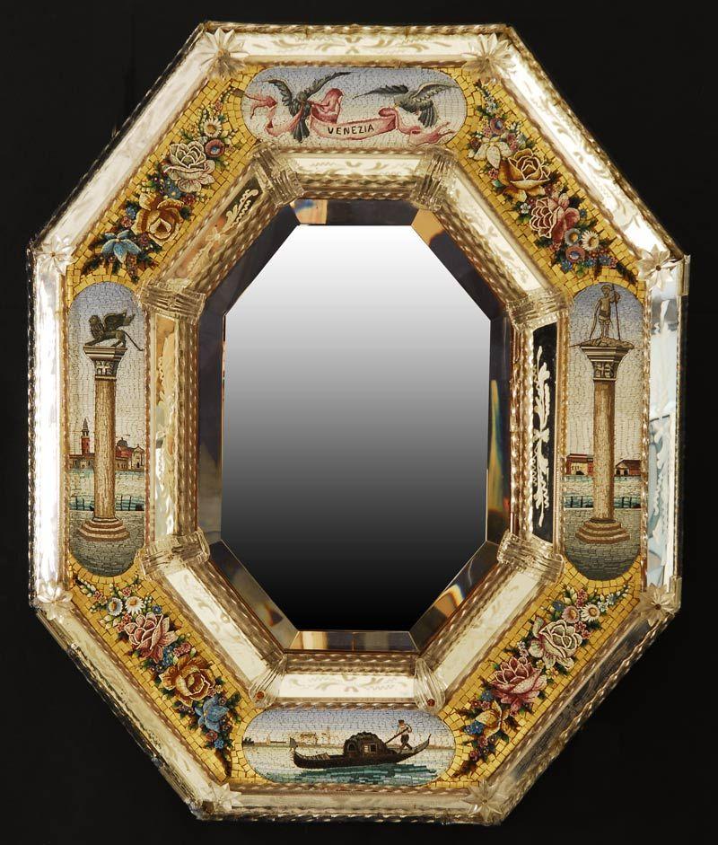 Resultado de imagen de cristal de murano espejos