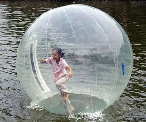 Inflatable Walk On Water Ball With Images Walk On Water Water Fun