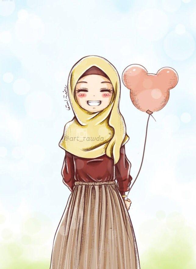 Ahnliches Foto Muslim Girls Women Islamic Art Hijab Drawing