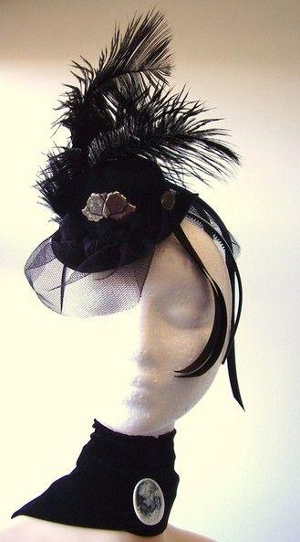 Moulin Rouge , Victorian Wedding \u0026 Burlesque headpiece