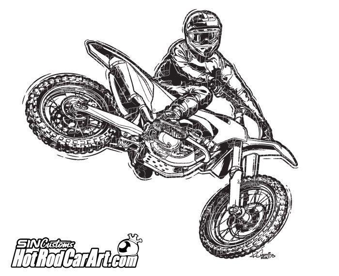 ktm motocross rider