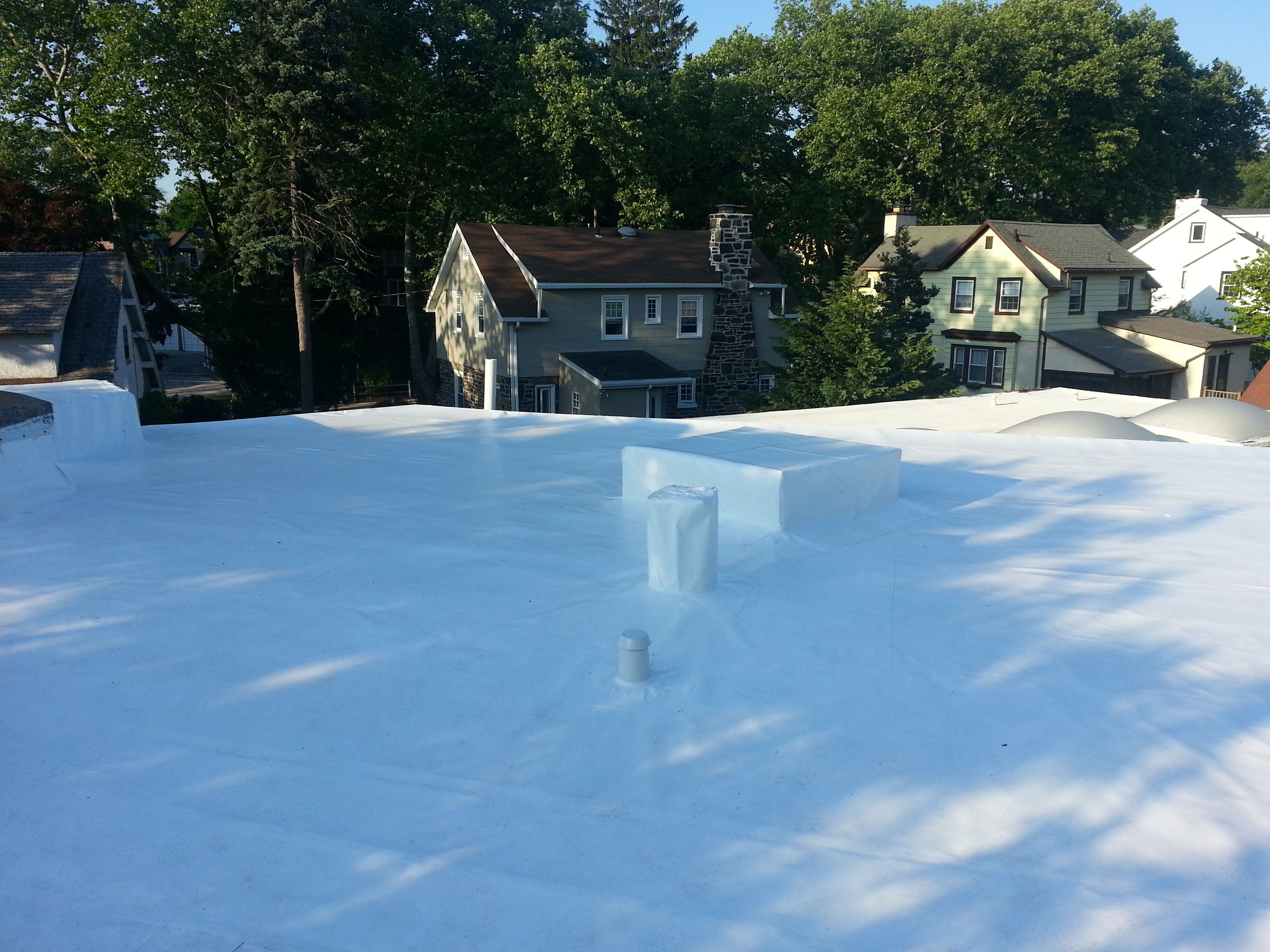 Manchester Roofing Systems Pennsylvania Academy Of Ballet Narberth Pa Duro Last World S Best Flat Roof Roofing Systems Flat Roof Roofing