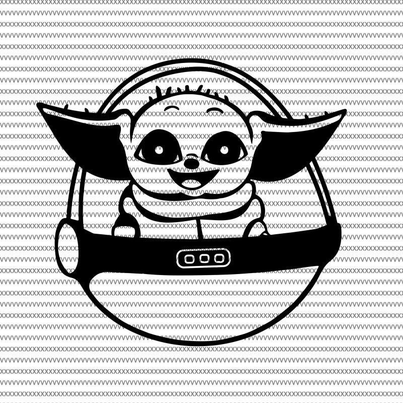 Baby Yoda Svg The Mandalorian The Child Baby Yoda Png Star Wars Svg Png The Child Png T Shirt Design For Sale Yoda Png Star Wars Baby Baby Svg