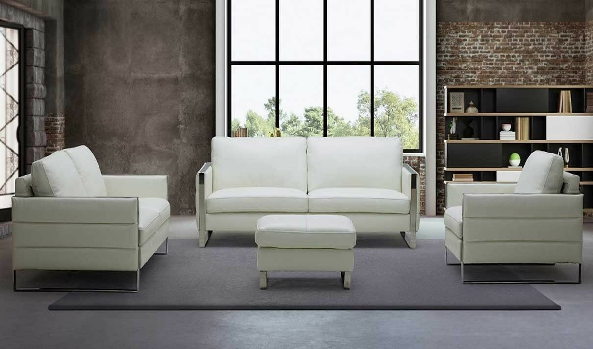 Details About Constantin Motion Living Room Set In White 3 Piece In 2020 Italian Leather Sofa Leather Sofa Set Sofa Set