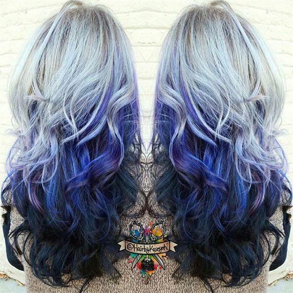 20 Galaxy Hair Color Ideas The Breathtaking Beauty Hair Hair