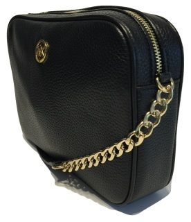 5c565dba0cbd0c Michael Kors Women's Fulton Large EW Leather Cross Body Bag Black 35H5GFTC7L