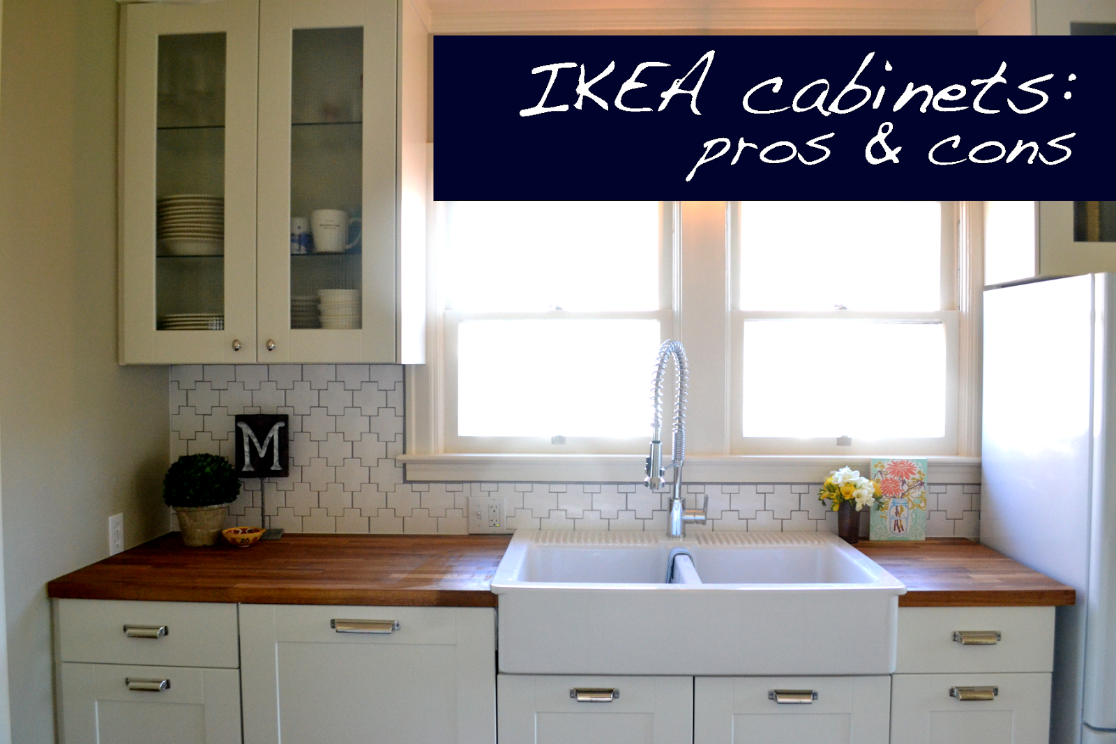 a home in the making: {renovate} pros and cons of IKEA cabinets ...