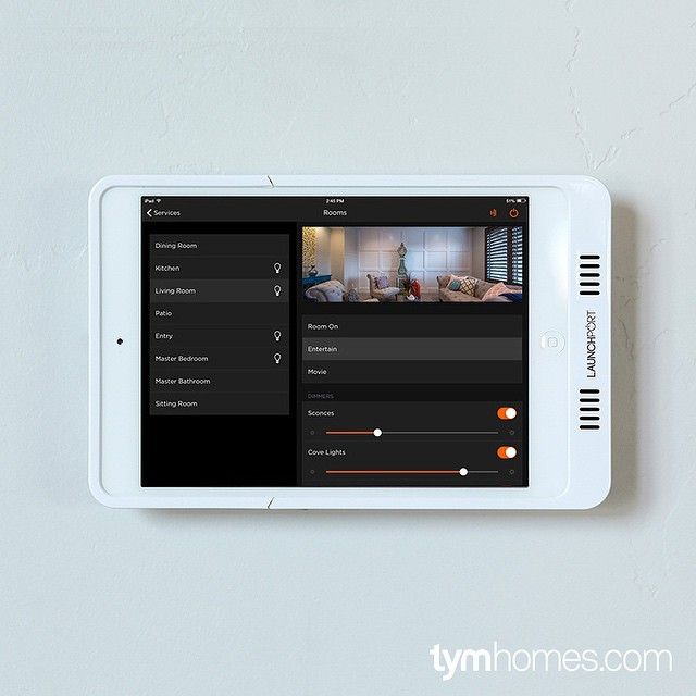 Theater Light Control System: Lutron Lighting Control Via Savant App For Home Automation