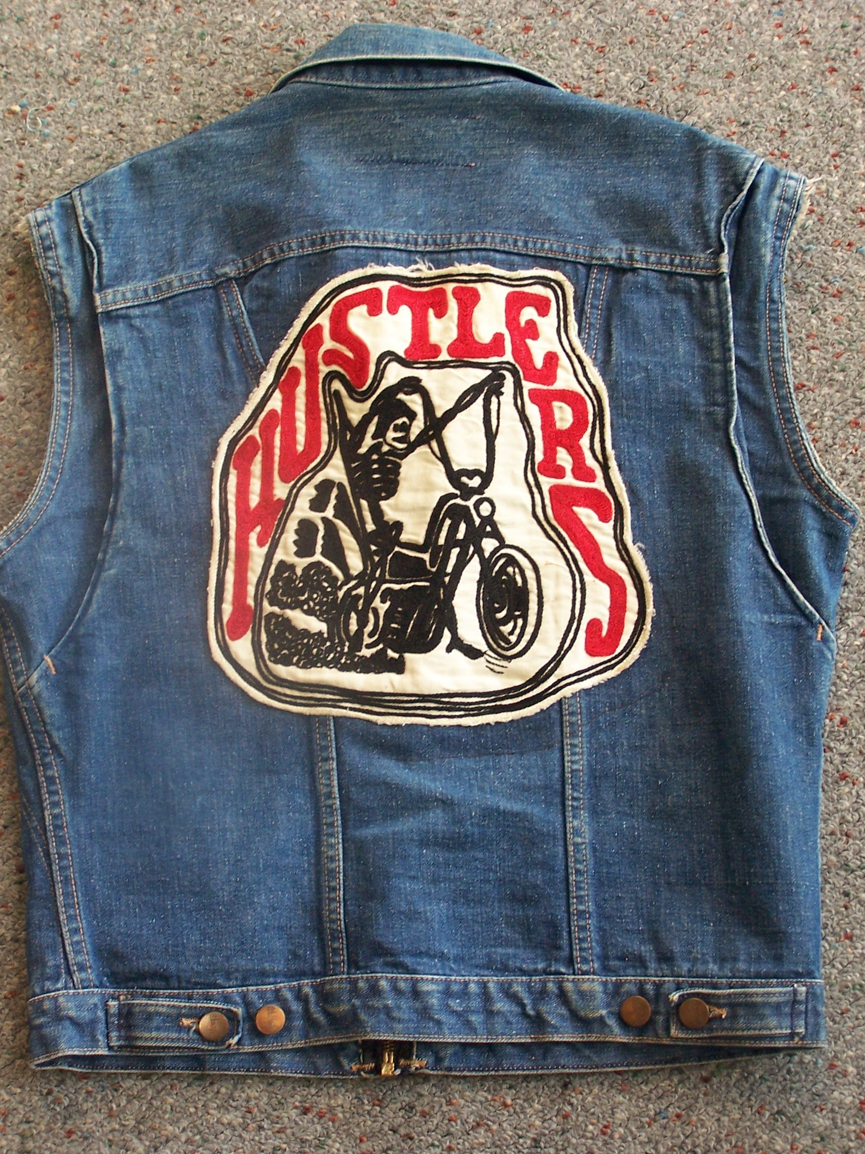 Hustlers! Greaser style, Detroit tattoo, Bike clothes