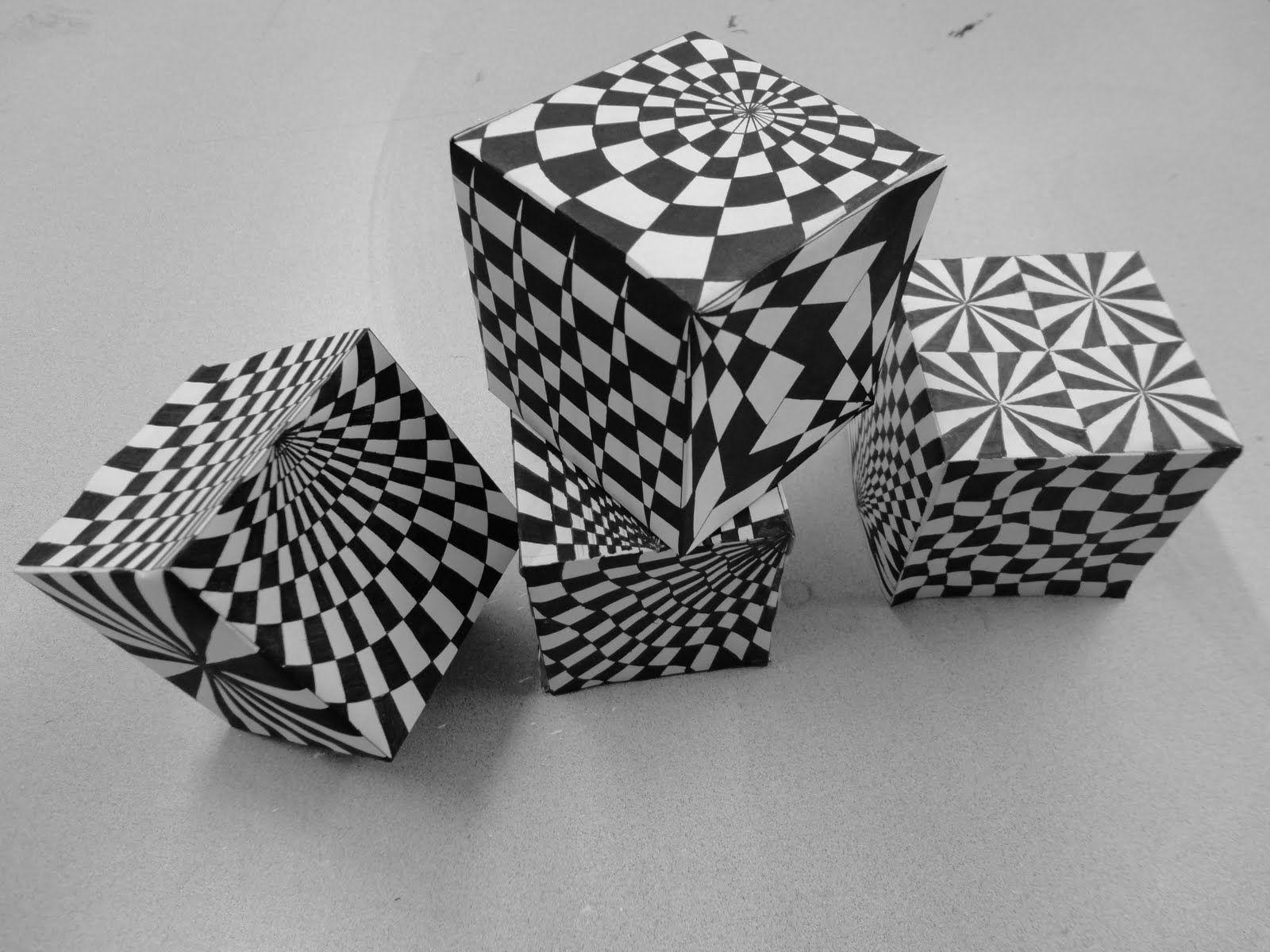 Cube Op Art