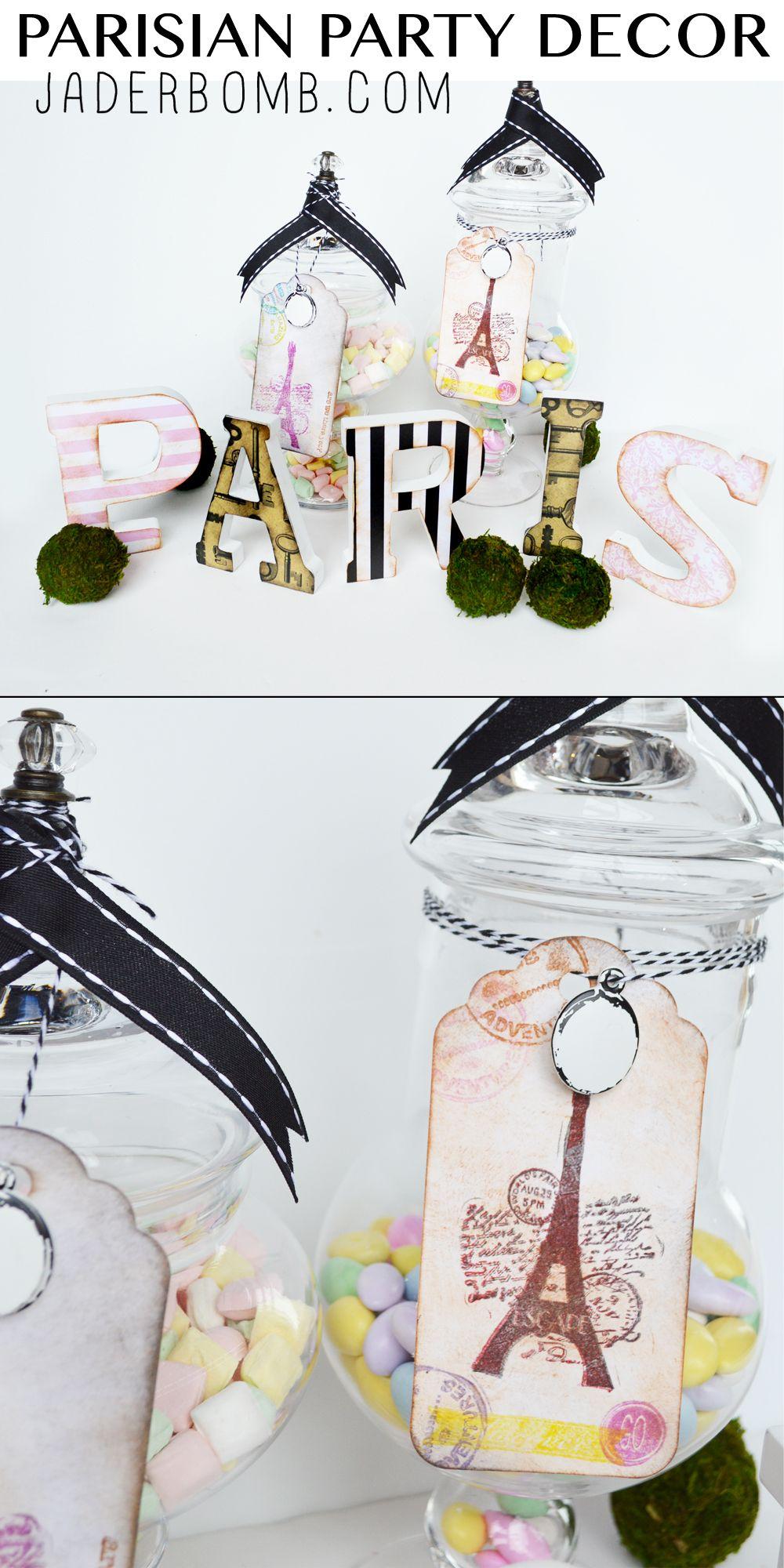 Parisian Party Decor | Parisian party, Parisians and DIY ideas