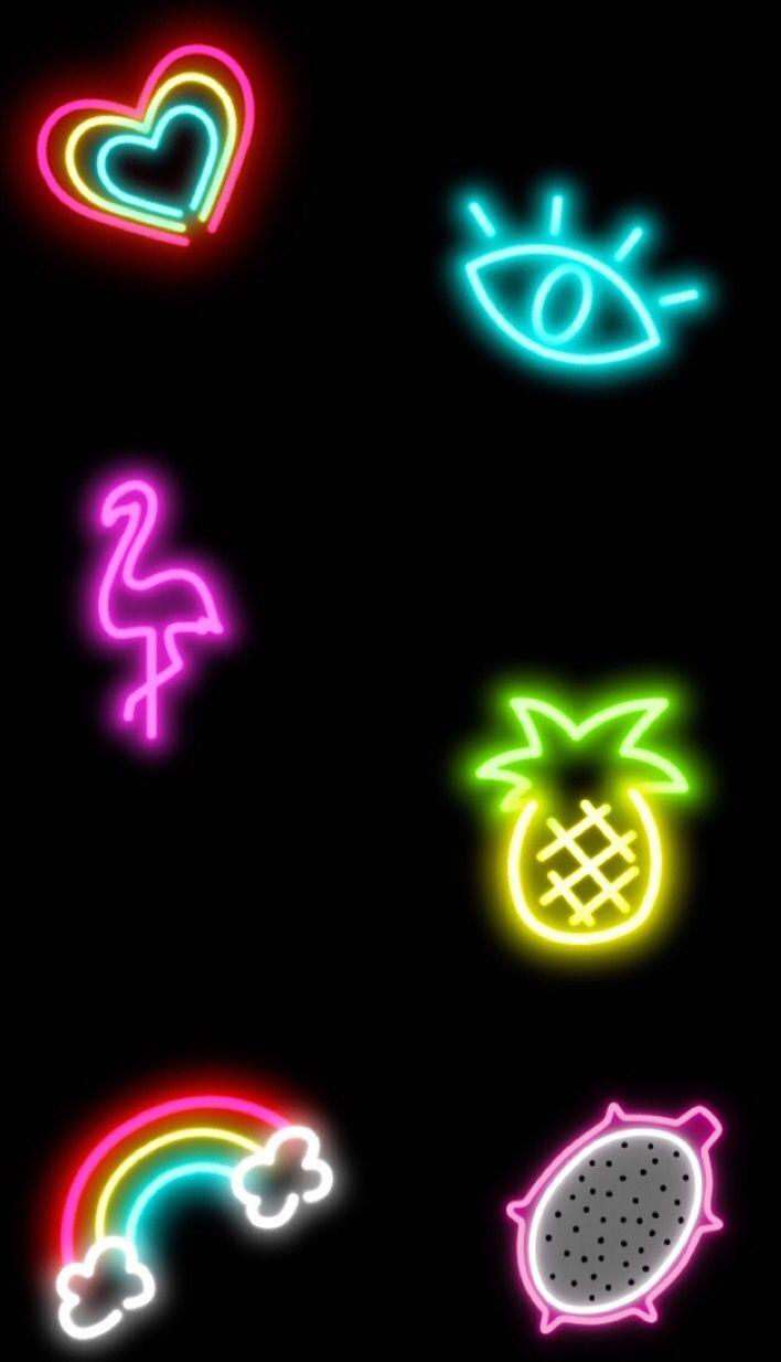 Pinterest Universexox Neon Wallpaper Neon Backgrounds Wallpaper Iphone Cute