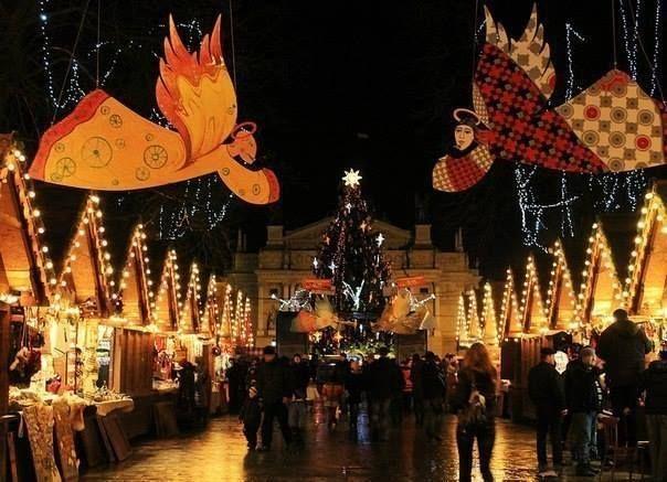 Різдвяний ярмарок LVIV