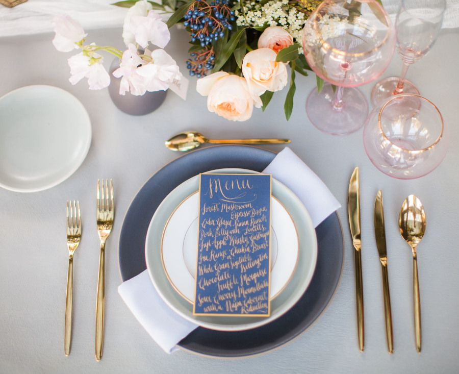 This Inspiration Session is Where Modern Meets Boho White napkins - fresh blueprint party band
