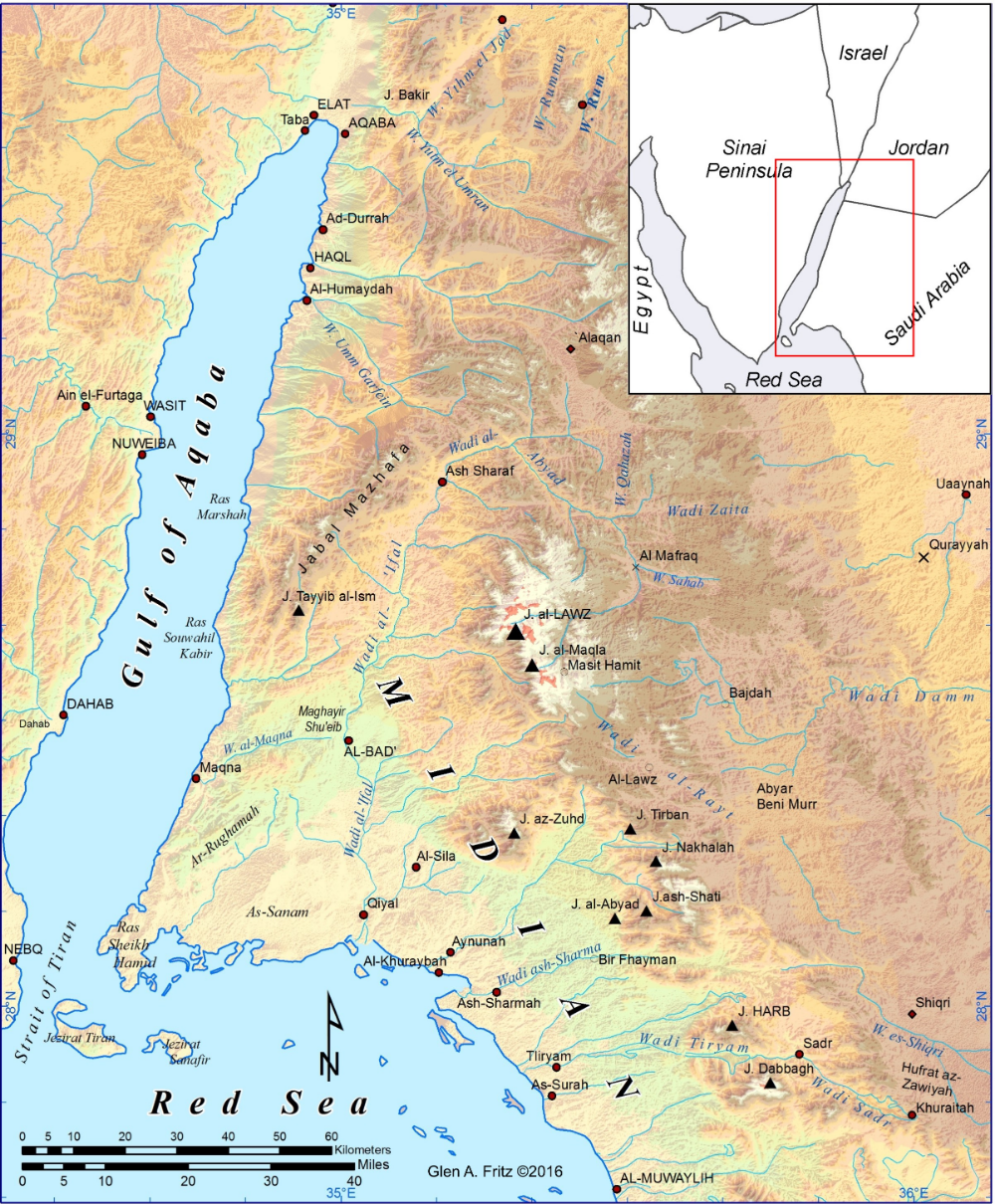 Where Was Ancient Midian In 2020 Sequence Of Events Egypt