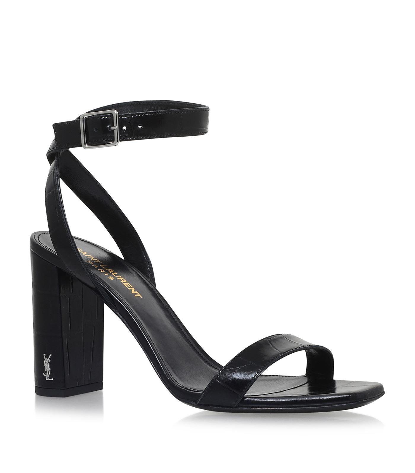 c4dab074a7e Saint Laurent LouLou Ankle Strap Sandals 95