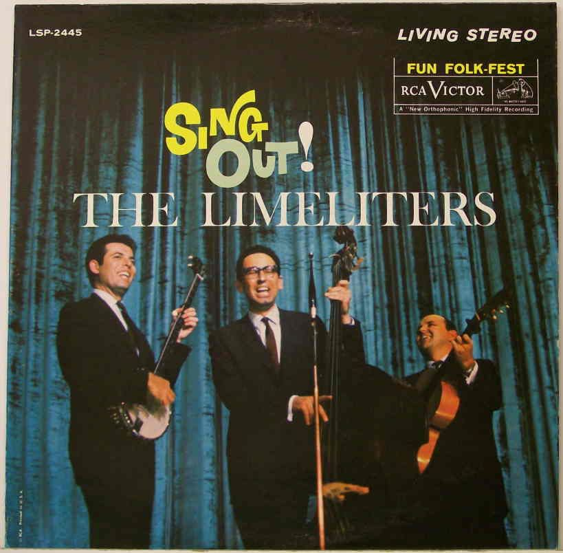 Sing Out 1962 Rca By The Limeliters Classic Album