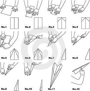 Paper plane instructions