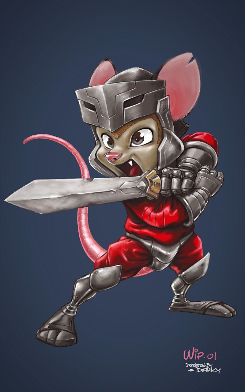 Digital painting / Character design Wip01 Galactus Kid