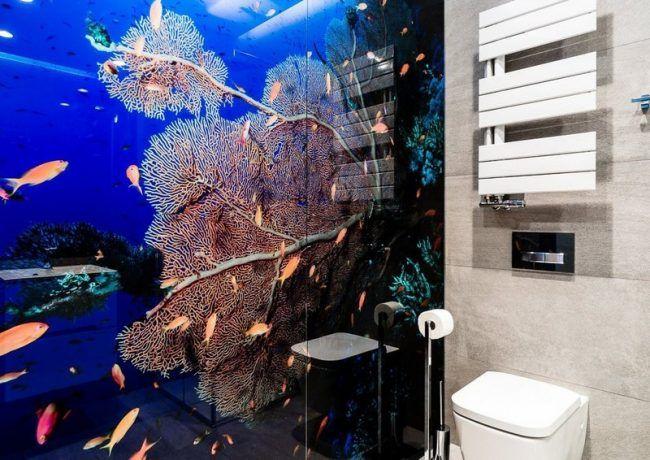 badezimmer ideen kleine baeder unterwasserwelt studio 1111 - Kleine Studio Design Ideen
