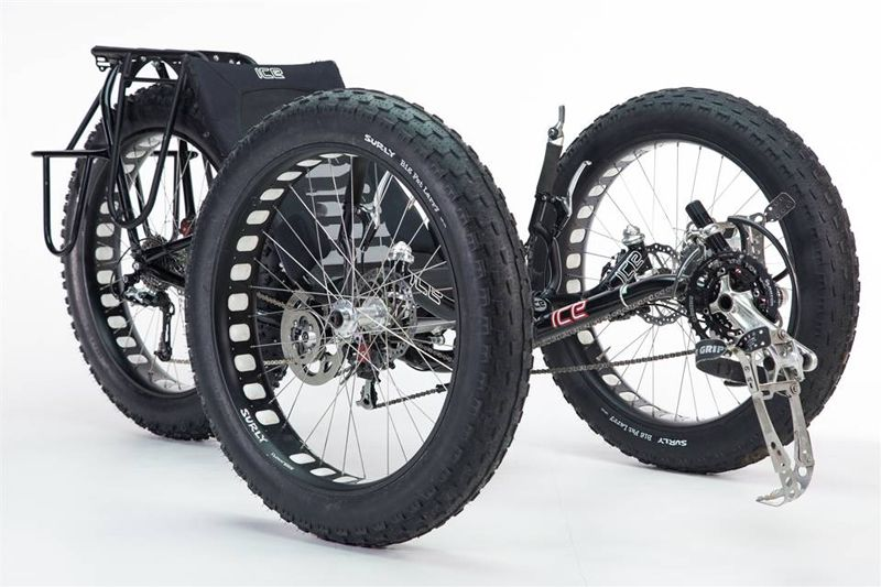 Fat Bike Trike Made Custom For Expedition To South Pole Wheels