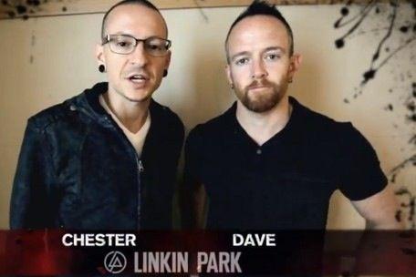 Chester Bennington & Dave Farrell  Linkin Park