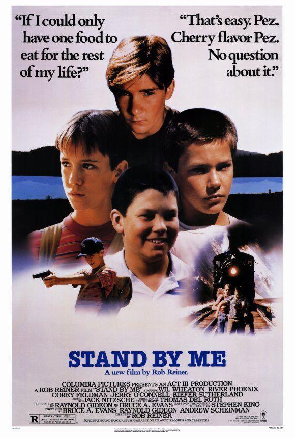 Stand By Me 27x40 Movie Poster (1986)   Pinterest   Cine, Películas ...
