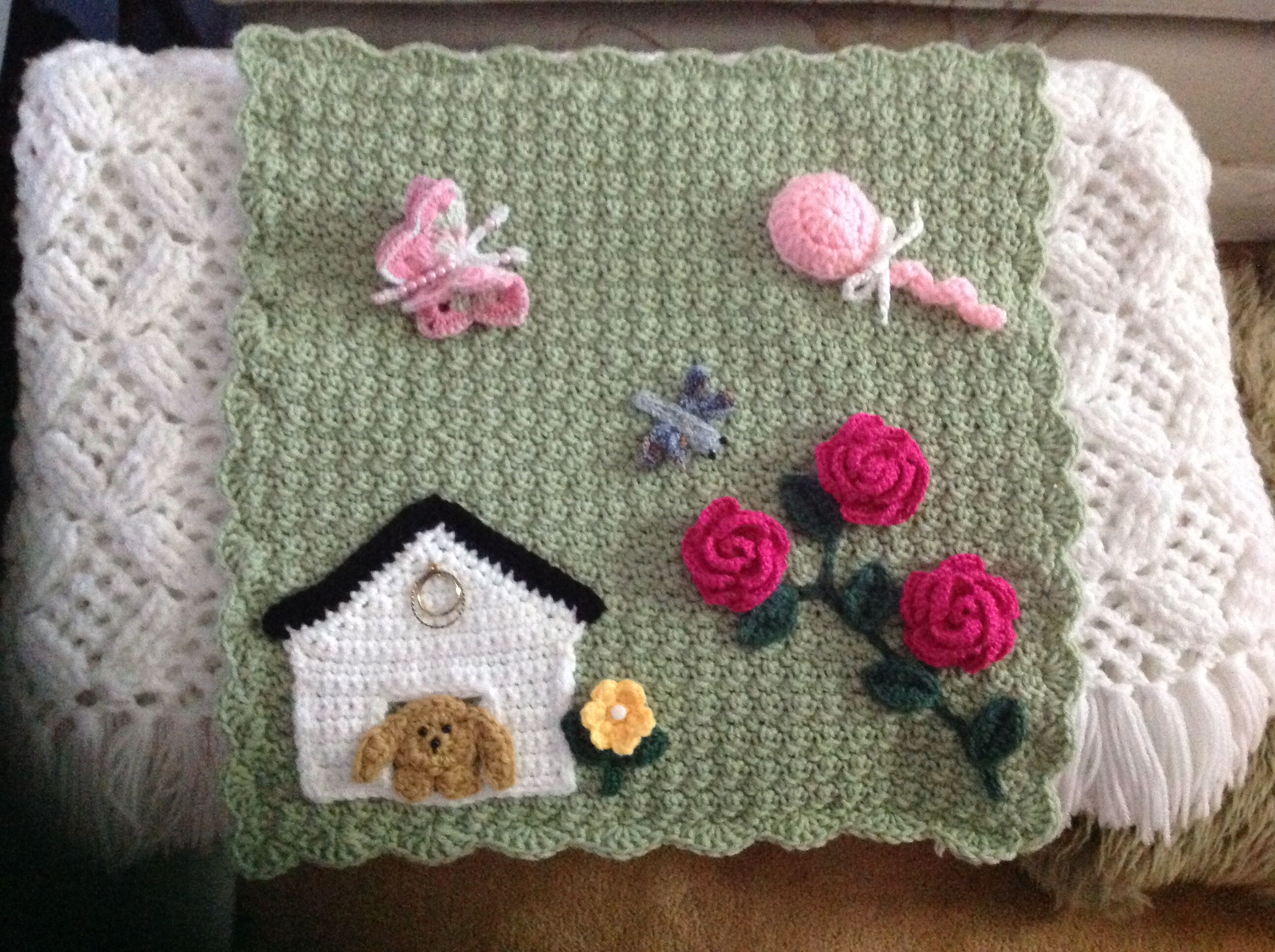 This Was My First Attempt At A Twiddle Mat Sewing Crafts Knitting Soft Book