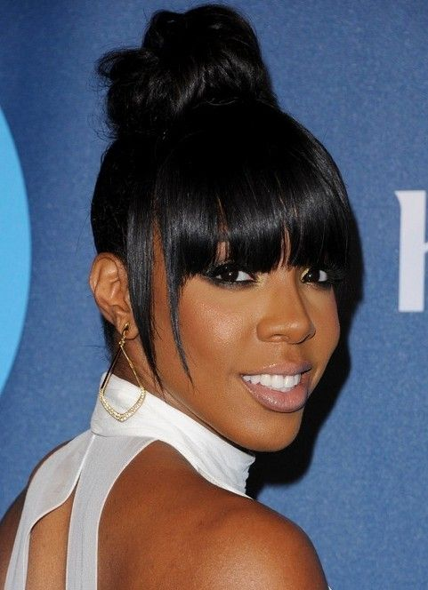 Kelly Rowland Hairstyles Adorable Hair Knot Pretty Designs Hair Styles Womens Hairstyles Natural Hair Styles
