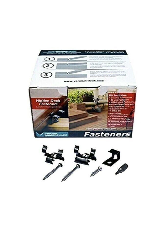 Veranda ArmorGuard Hidden Fasteners #veranda | Fiberon