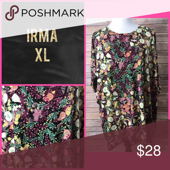 Irma Top NWT LuLaRoe Tops Tunics Tops, Fashion, Womens