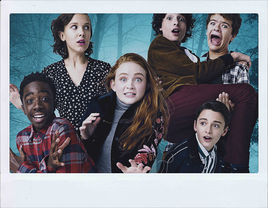 emmacharlottewatson 'Stranger Things' Cast + PHOTOSHOOTS