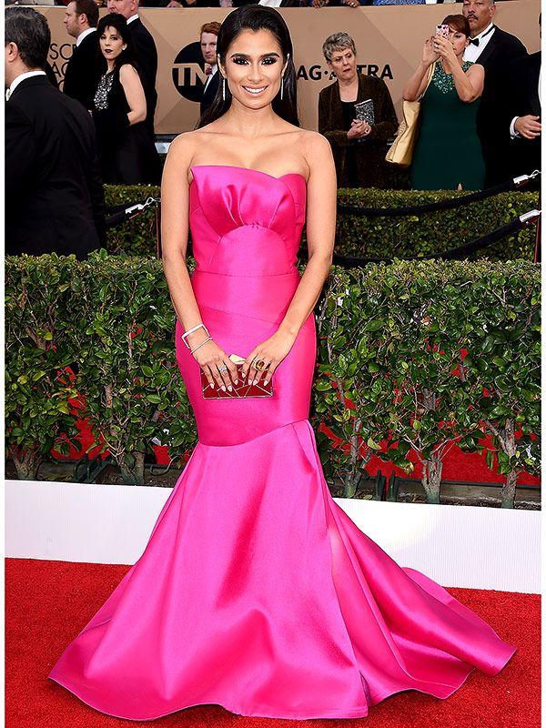 Diane Guerrero pink dress