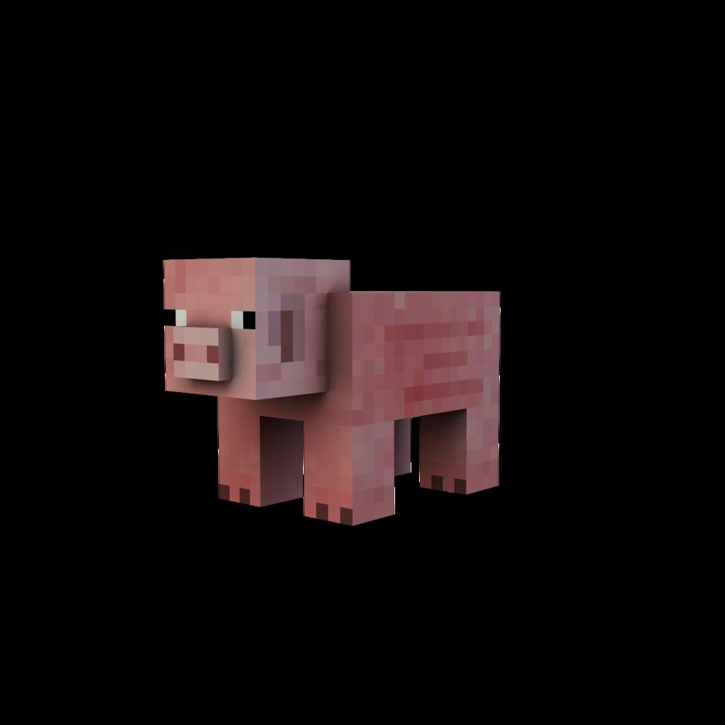 Minecraft Pig Minecraft Render Pig By Danixoldier On Deviantart Minecraft Minecraft Pig Minecraft Stickers