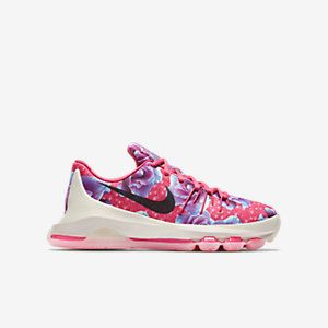 more photos d5f76 5ad81 NEW!! Girls / Women's KD 8 'Aunt Pearl' Premium Basketball ...