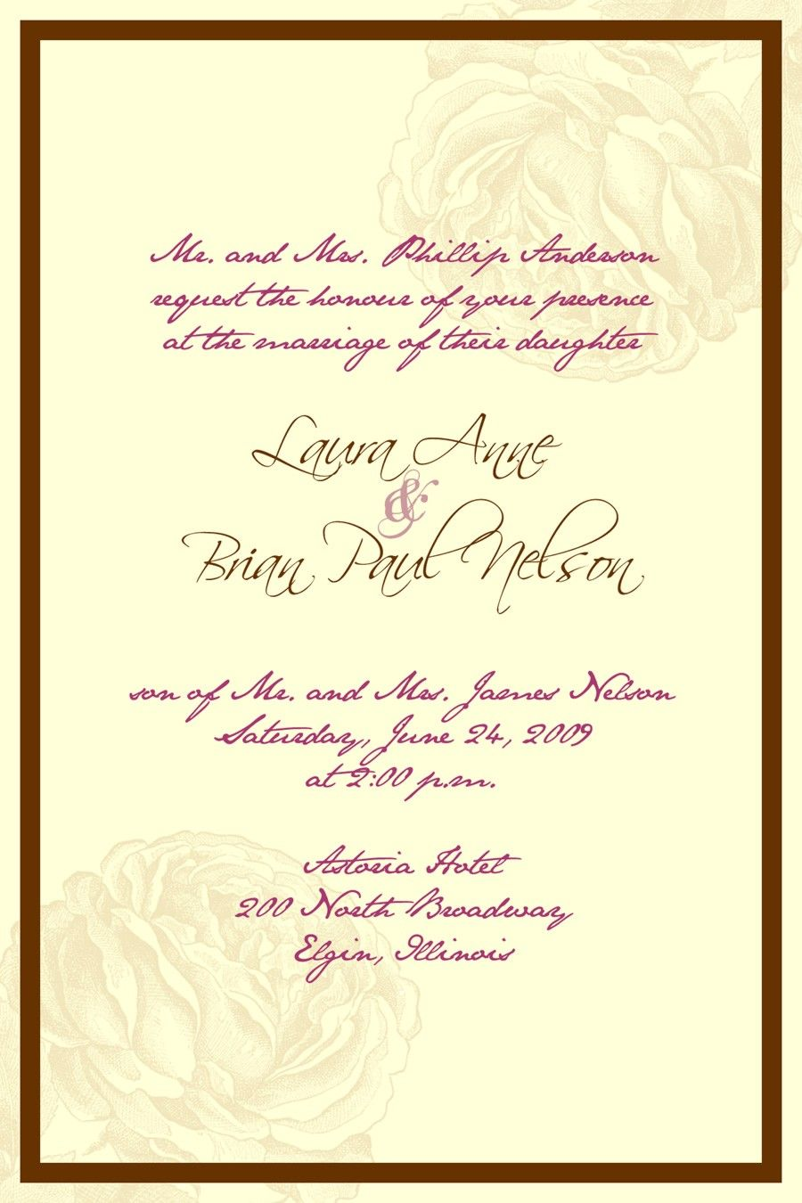 Beach Wedding Invitations The beach theme wedding is one of the most ...