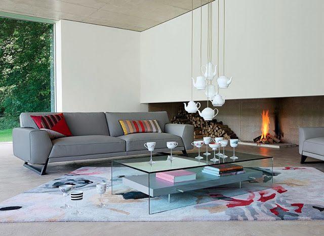 Graues Sofa - zeitloser eleganter Look - Einrichtungs ...