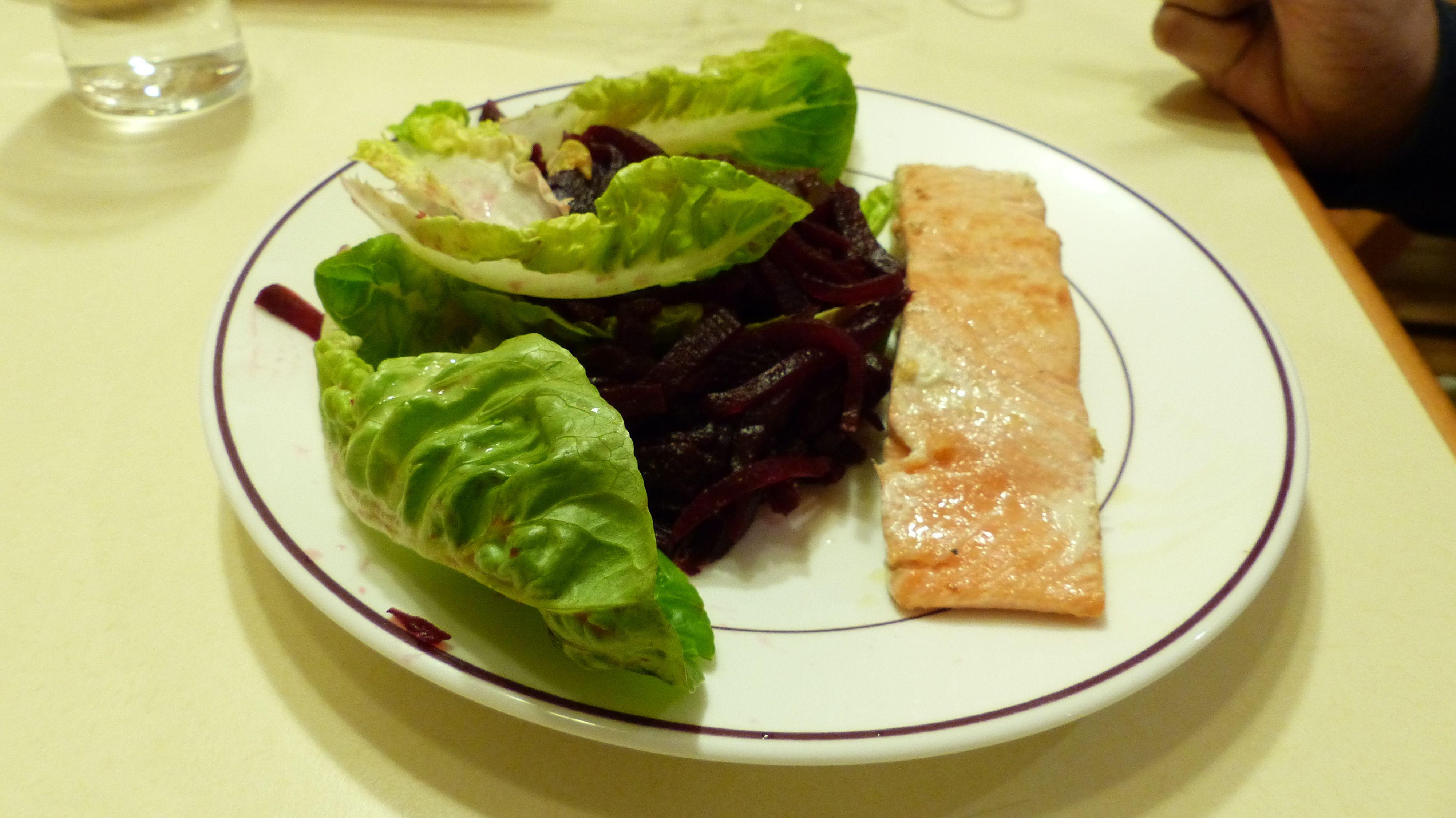 Teste de recette (poisson + bettrave)