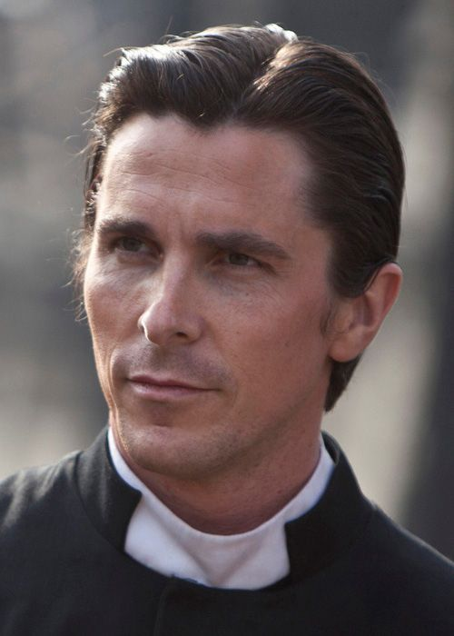 """Christian Bale as """"Father"""" John in The Flowers of War, one of my favorites of Christian's movies!"""