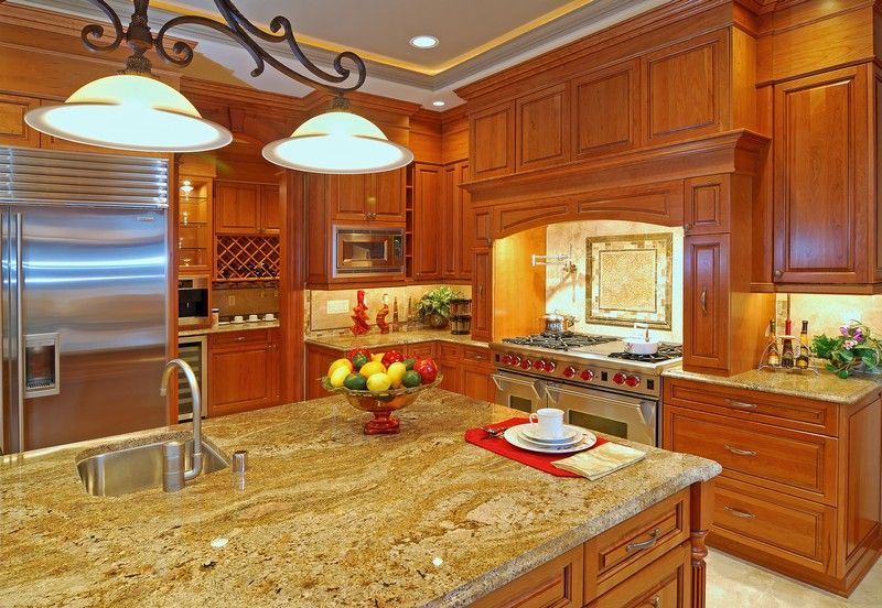 Granite Counters For Alderwood Cabinets | ... Ideas : Sucurri Granite  Countertops With Medium
