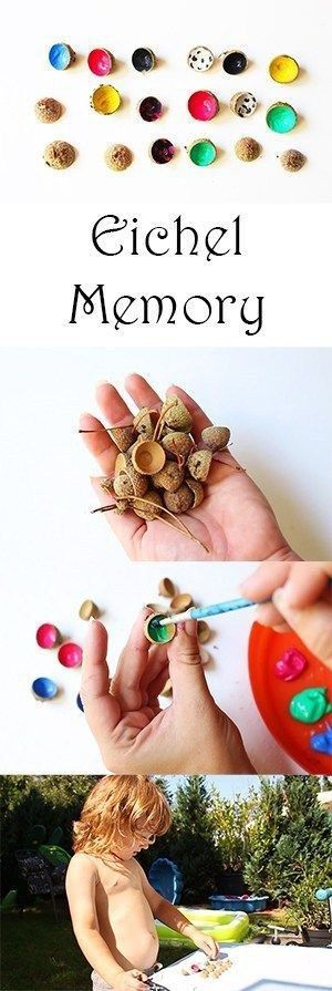 Basteln im Herbst mit Kindern - von Naturmaterialien bis Knöpfe #herbstbastelnmitkindern