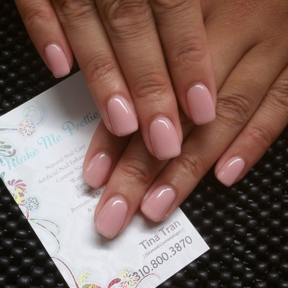 Natural Nails Hard Gel Manicure Cal Bioseaweed Shellac Opi Essie Nail Polish Pedicure Beverly Hill Hermosa Beach Melrose Yelp