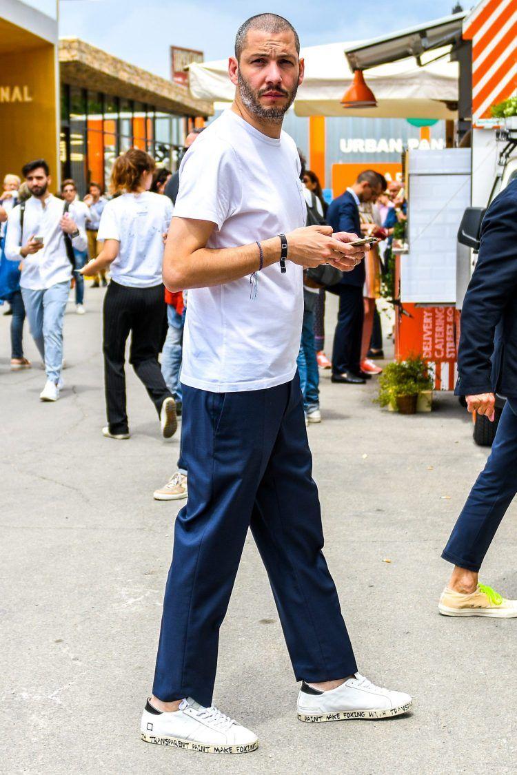 f9c1f43d4f3634 白Tシャツ コーデ特集【メンズ2019最新】 - ページ 2   Casual cool   白 ...