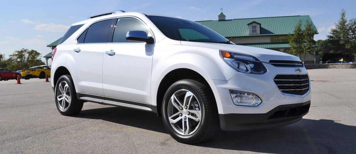 2016 Chevrolet Equinox First Look At New Leds Nose And Interior