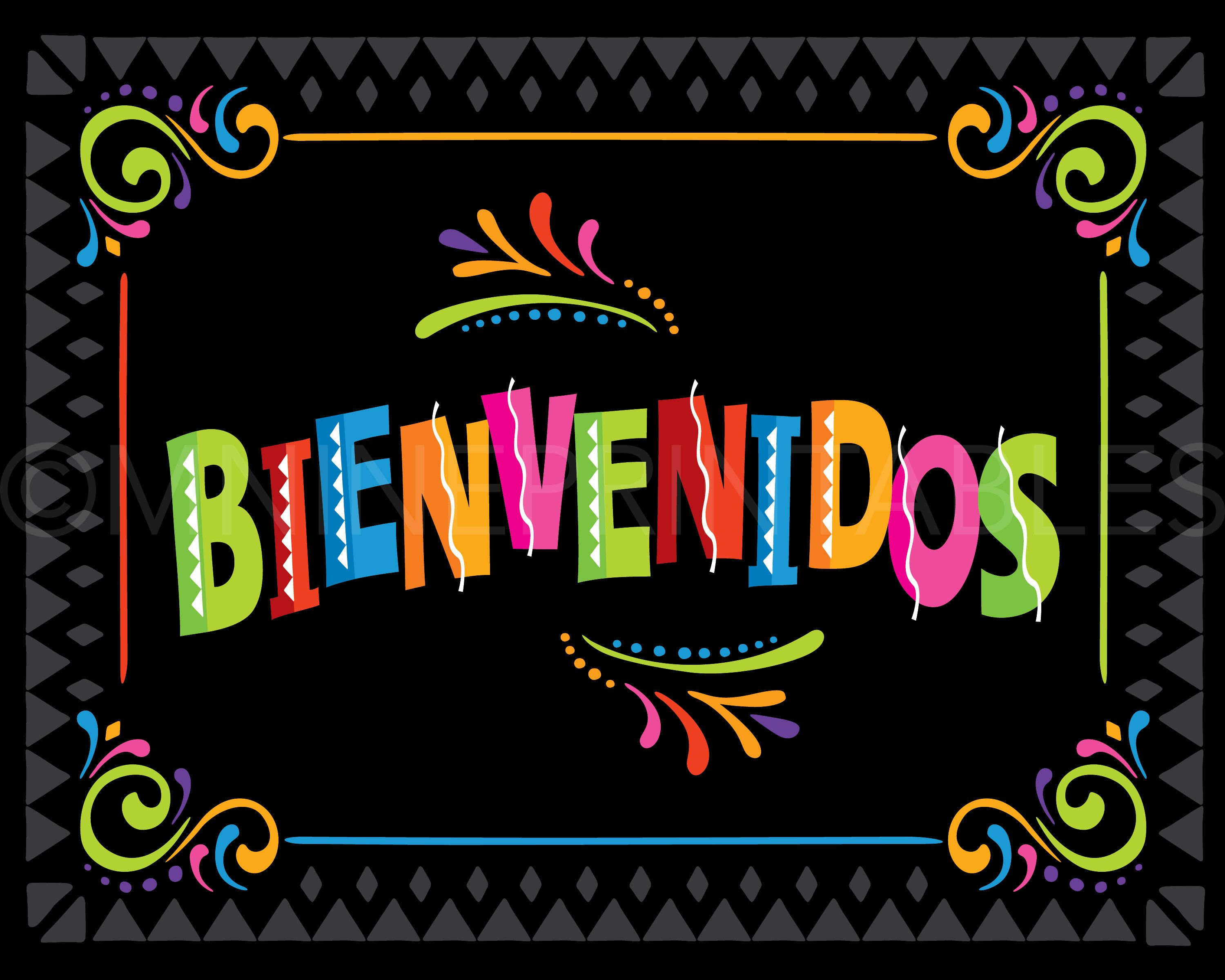 Fiesta Party Sign Printables