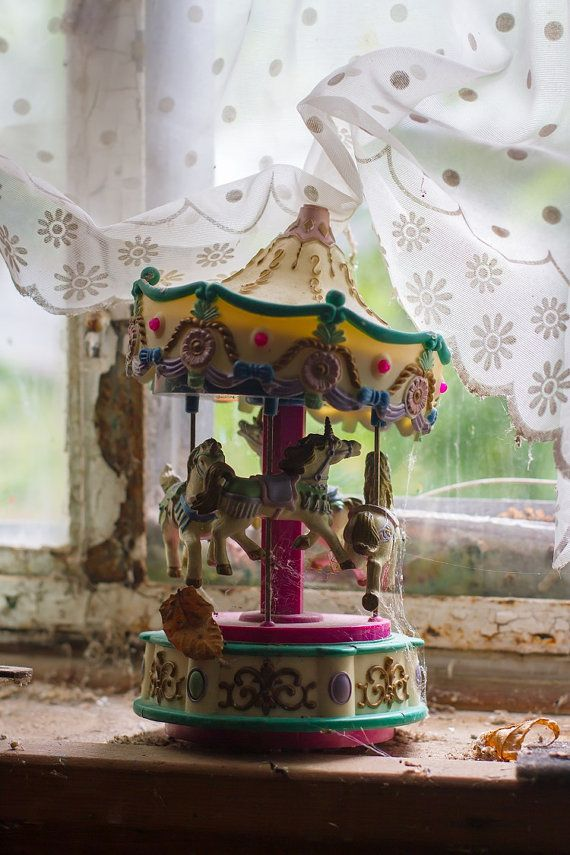 The Carousel -- Abandoned Home in upstate NY