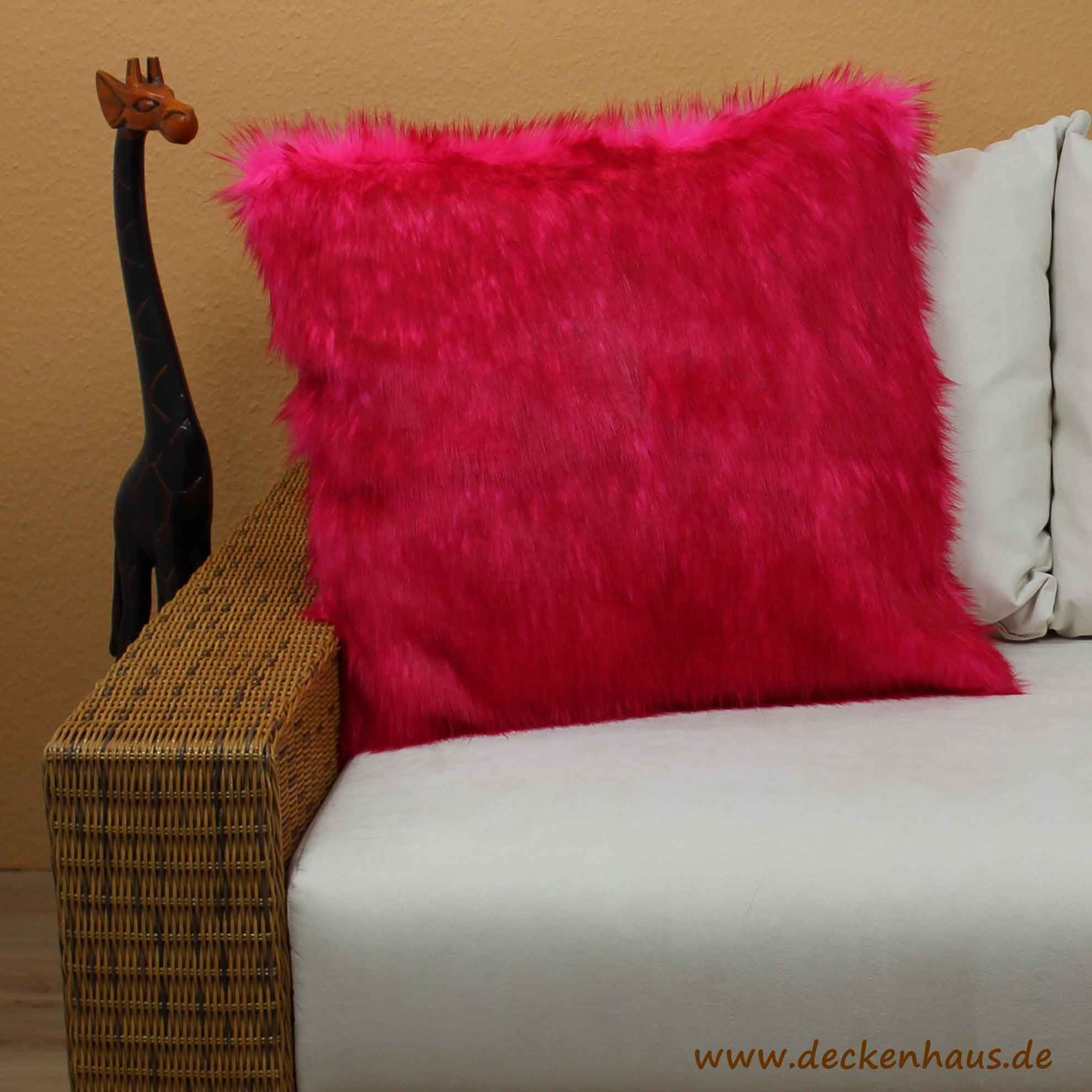 Kissen Pink