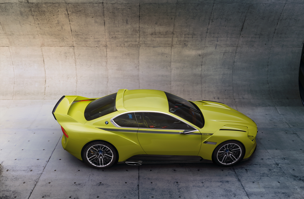 BMW shows off its newest concept car: the 3 0 CSL Hommage