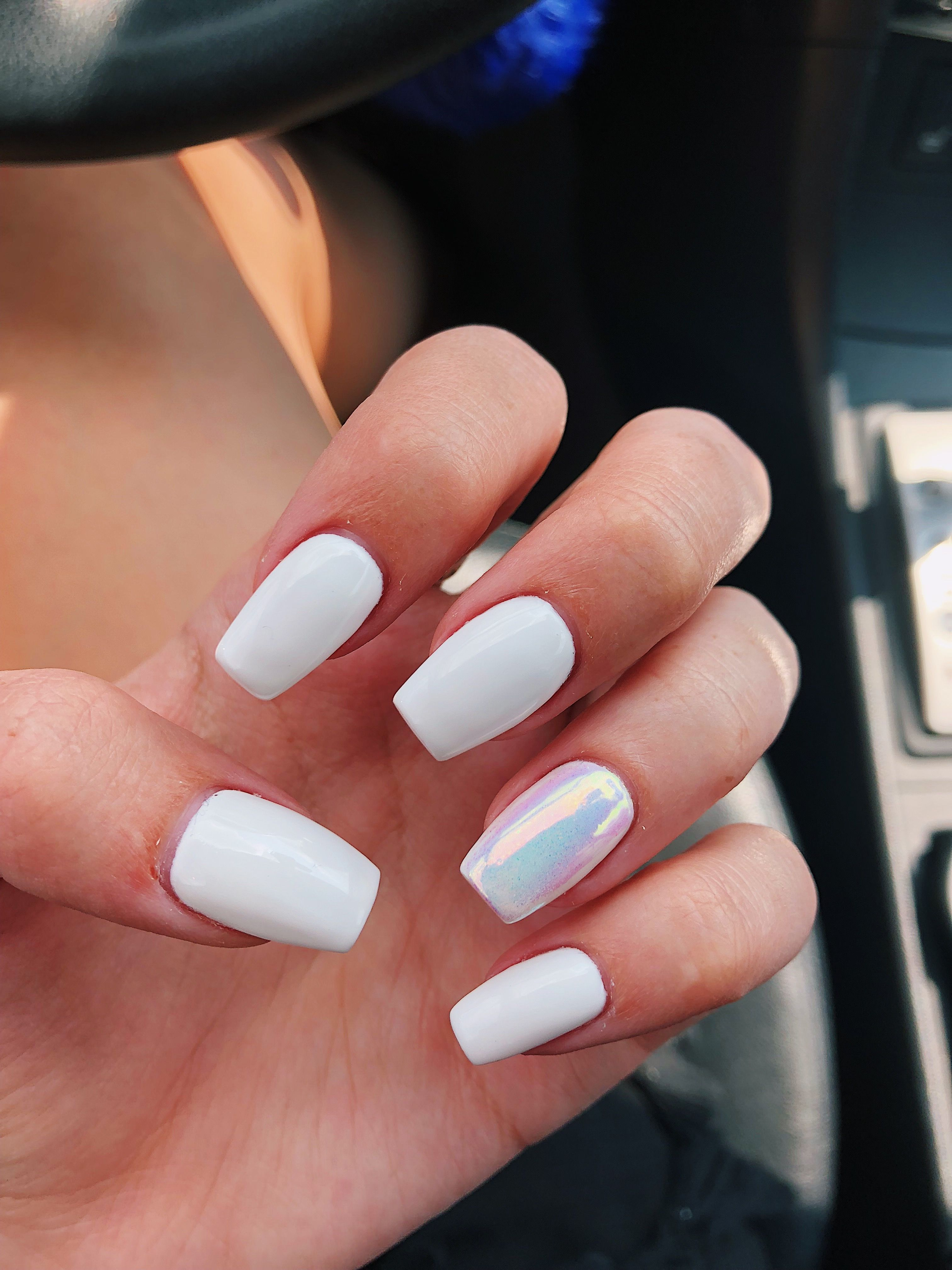 Natural Way To Whiten Yellow Nails A Quick Trick To Make Your Nails Look Whiter Beauty And Makeup Tips Stained Nails Beauty Hacks Yellow Nails