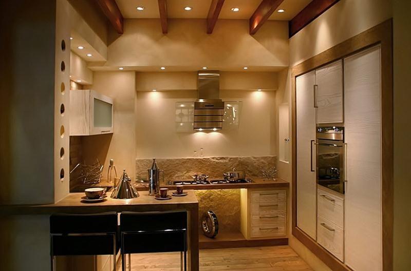 Grifo caminetti le nostre cucine in mattoni pietre marmo e legno cucine home - Cucine finte muratura ...